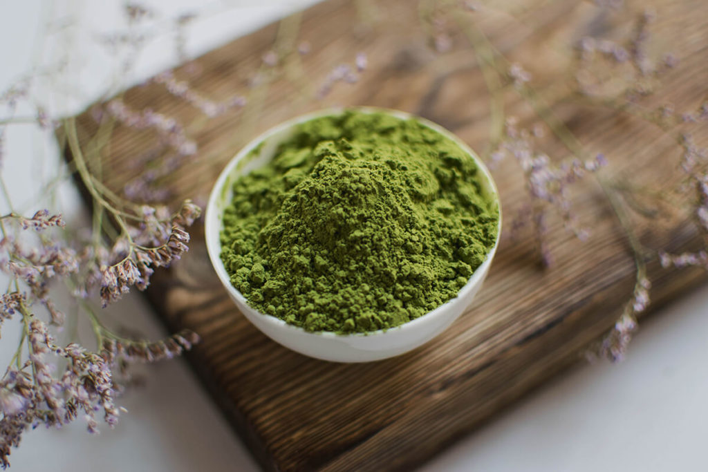 Матча зеленый чай Маття фото