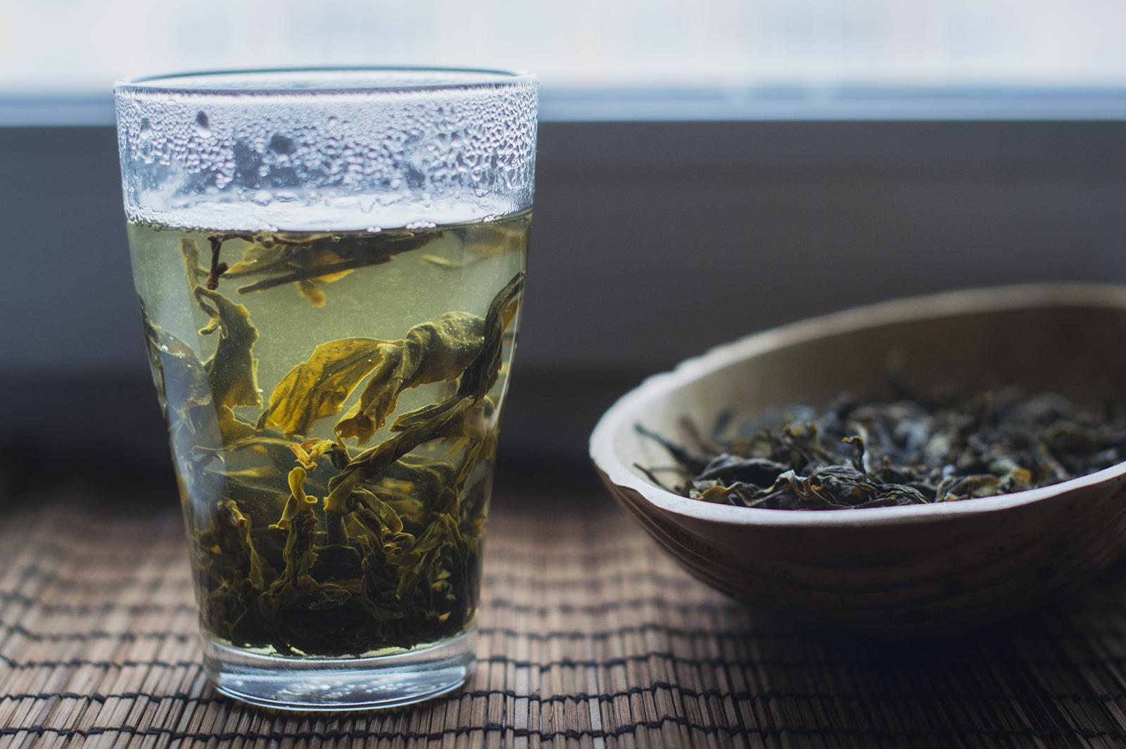 Зеленый чай Цзинь Сюань фото