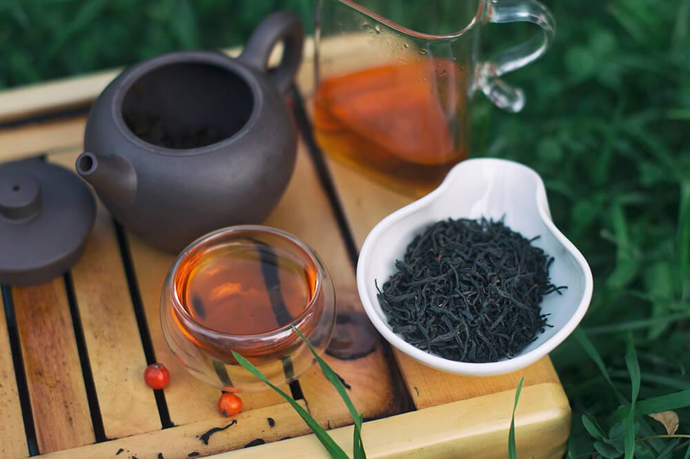 Исин Хун Ча Красный чай из города Исин фото