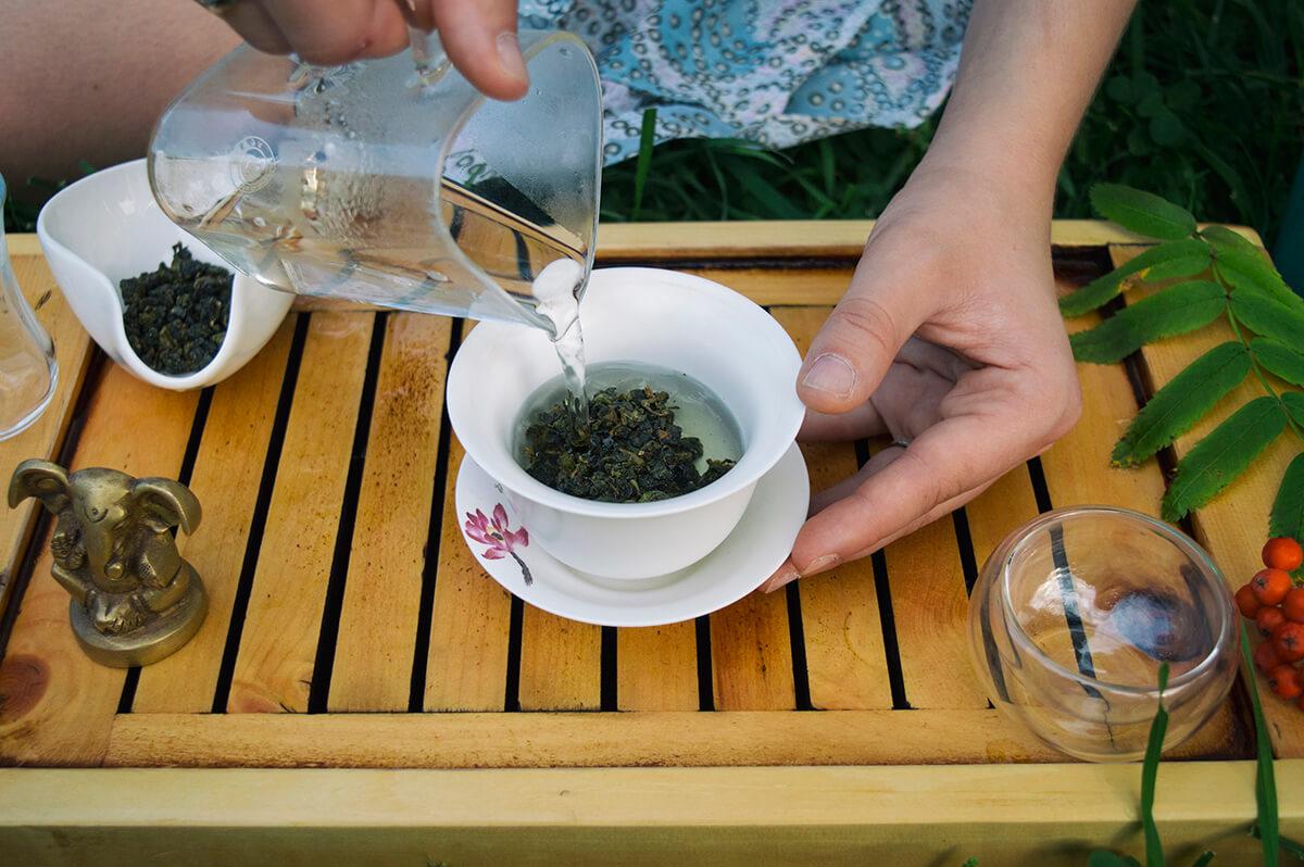 Как заваривать чай в гайвани фото