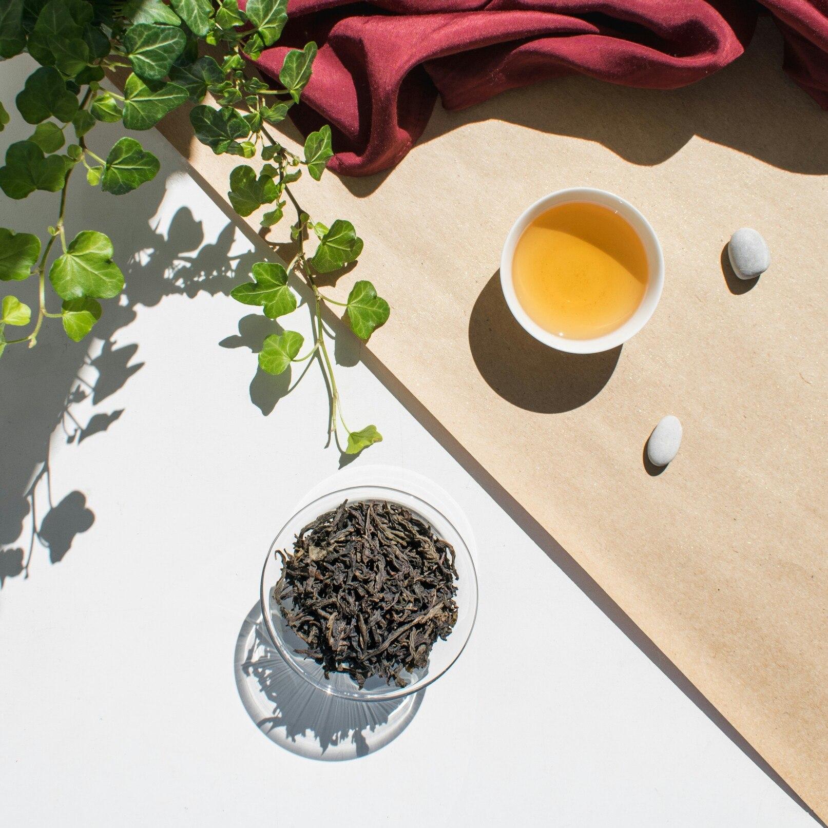 Да Хун Пао Цин Сян Большой Красный Халат чай фото
