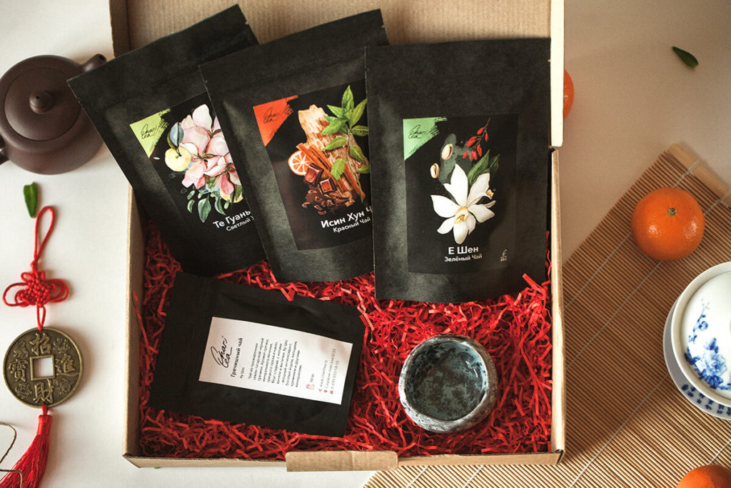 Подарочный набор китайского чая фото