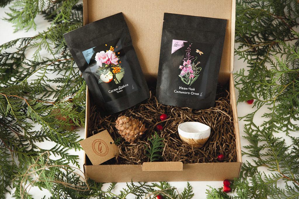 Подарочный набор чая фото