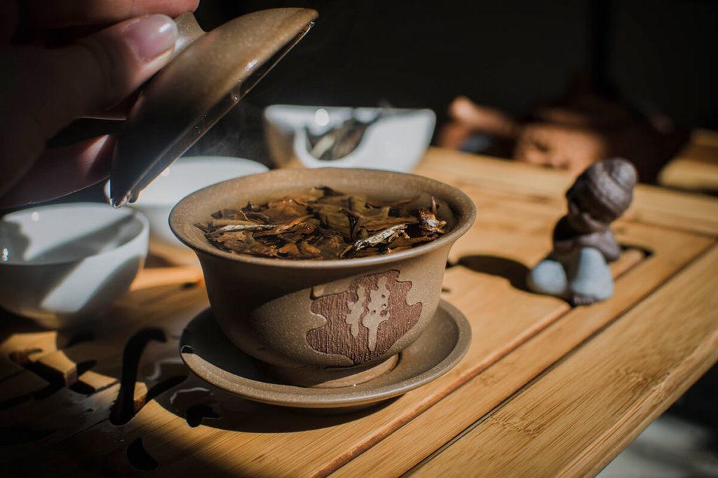 Как заваривать белый чай фото