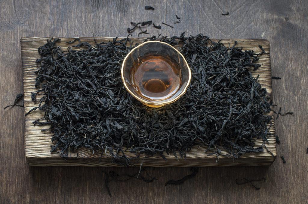Лимонный черный чай купить фото