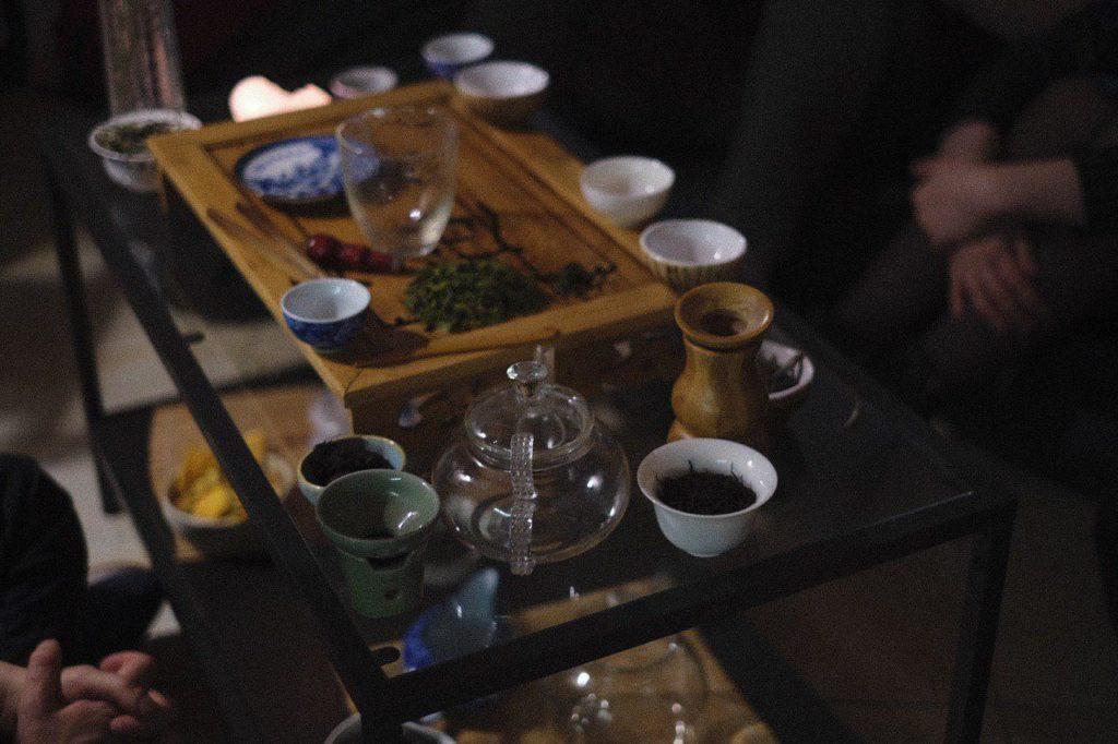 Чайная церемония в Москве фото