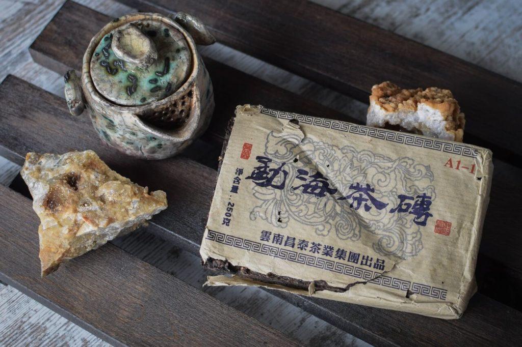 Чантай Шэн пуэр 2004 год купить фото