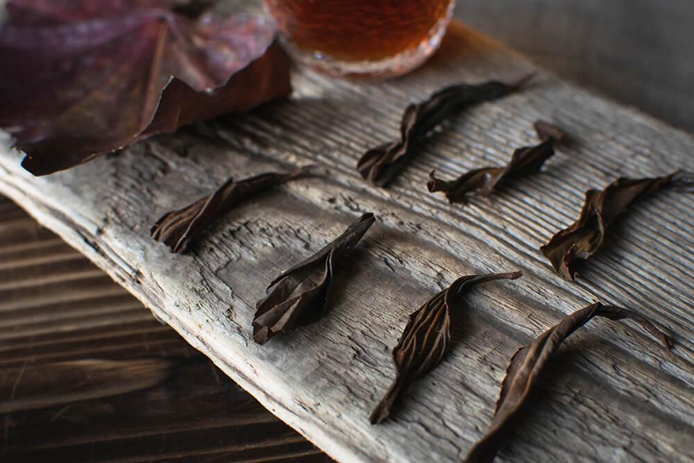 Листья чая из Гуйчжоу фото