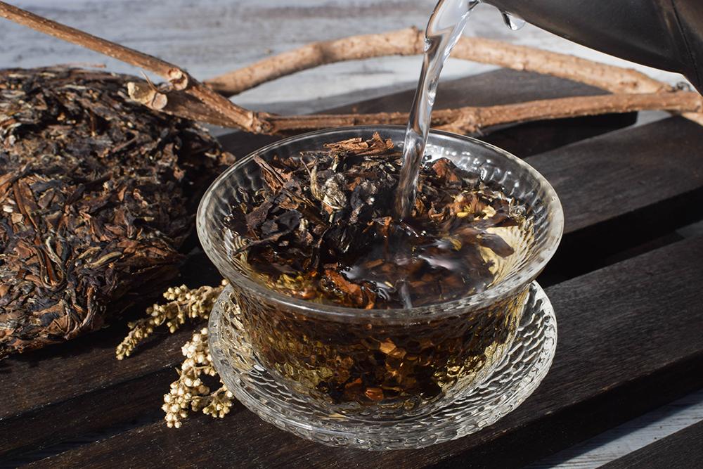 Белый чай Шоу Мэй Ван купить в Москве фото