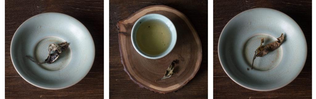 Белый чай с чайных деревьев Мэнсун фото