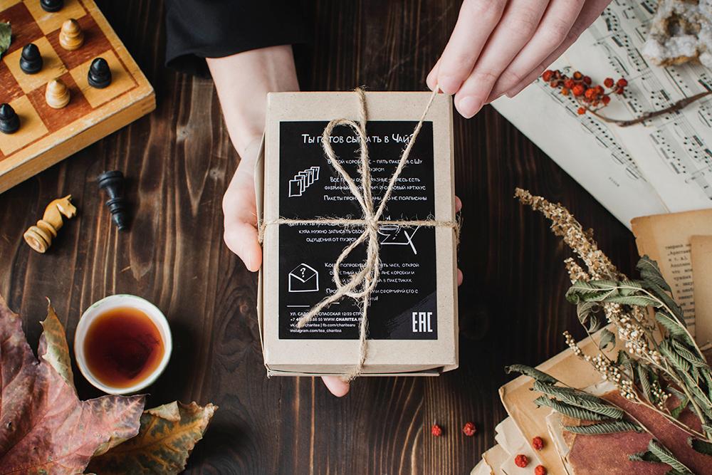 Подарочный набор чай Пуэр купить фото
