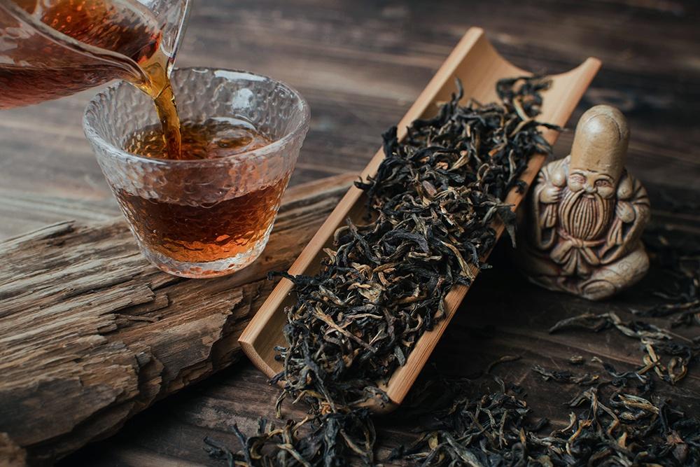 Шайхун красный чай высушенный на солнце купить фото
