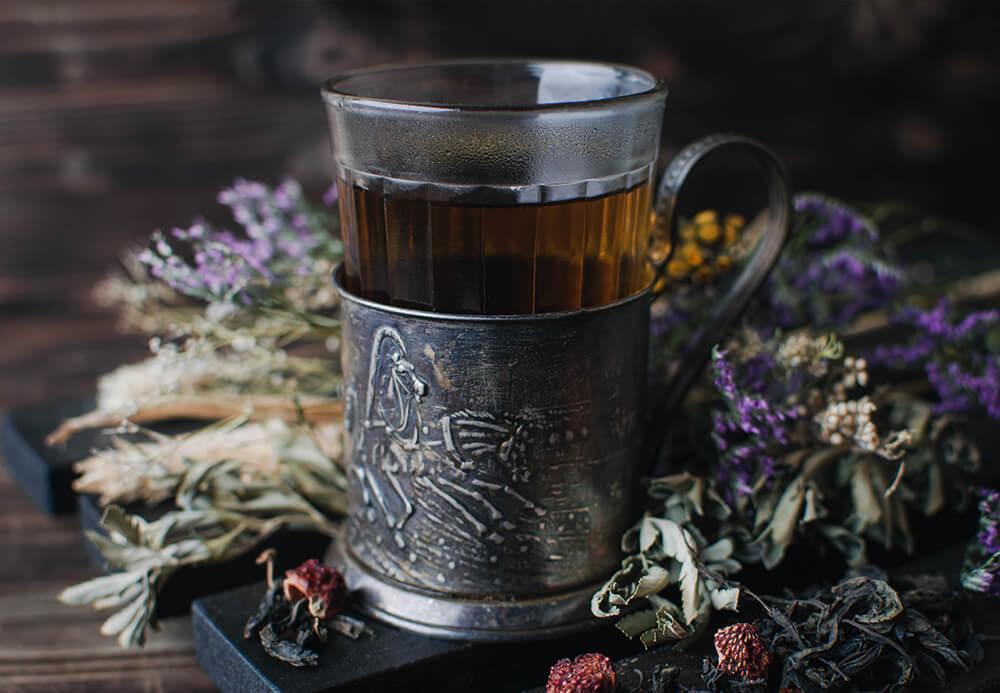 Иван-чай с земляникой купить в Москве фото