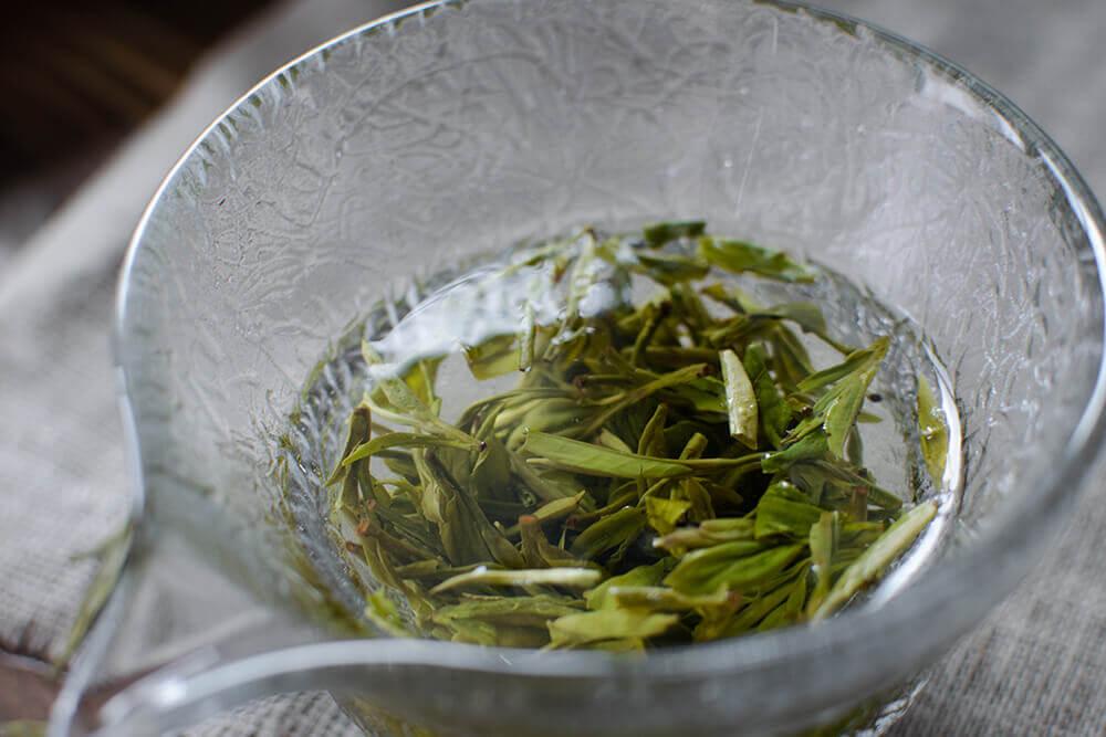 Зеленый чай органик Лунцзин купить в Москве фото