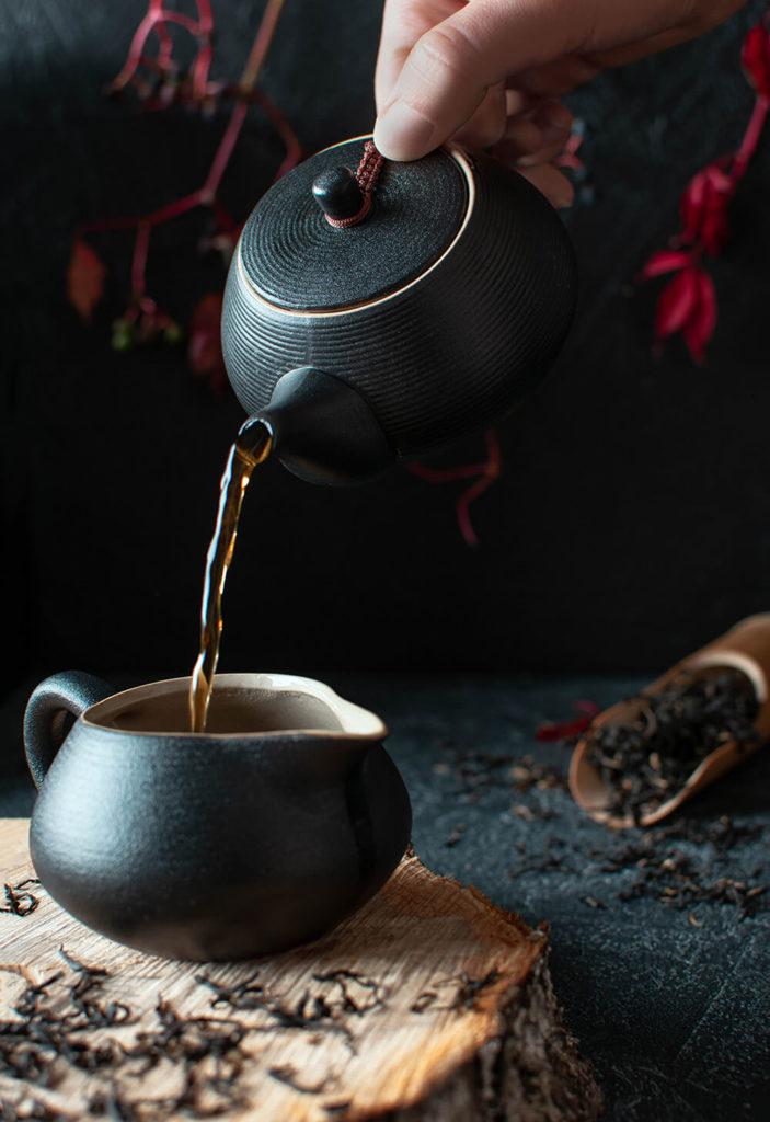Красный чай из Мэндин купить фото