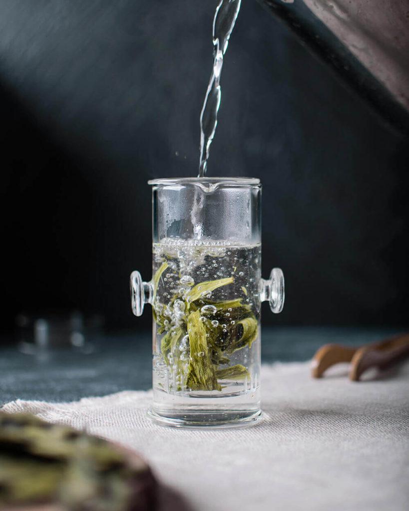 Зеленый чай из Аньхой купить фото