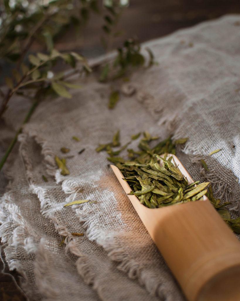 Fresh green tea longjing 2021