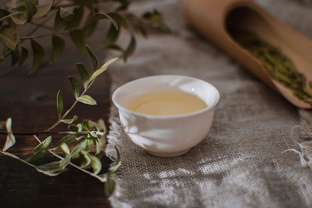 Green tea lonjing march 2021