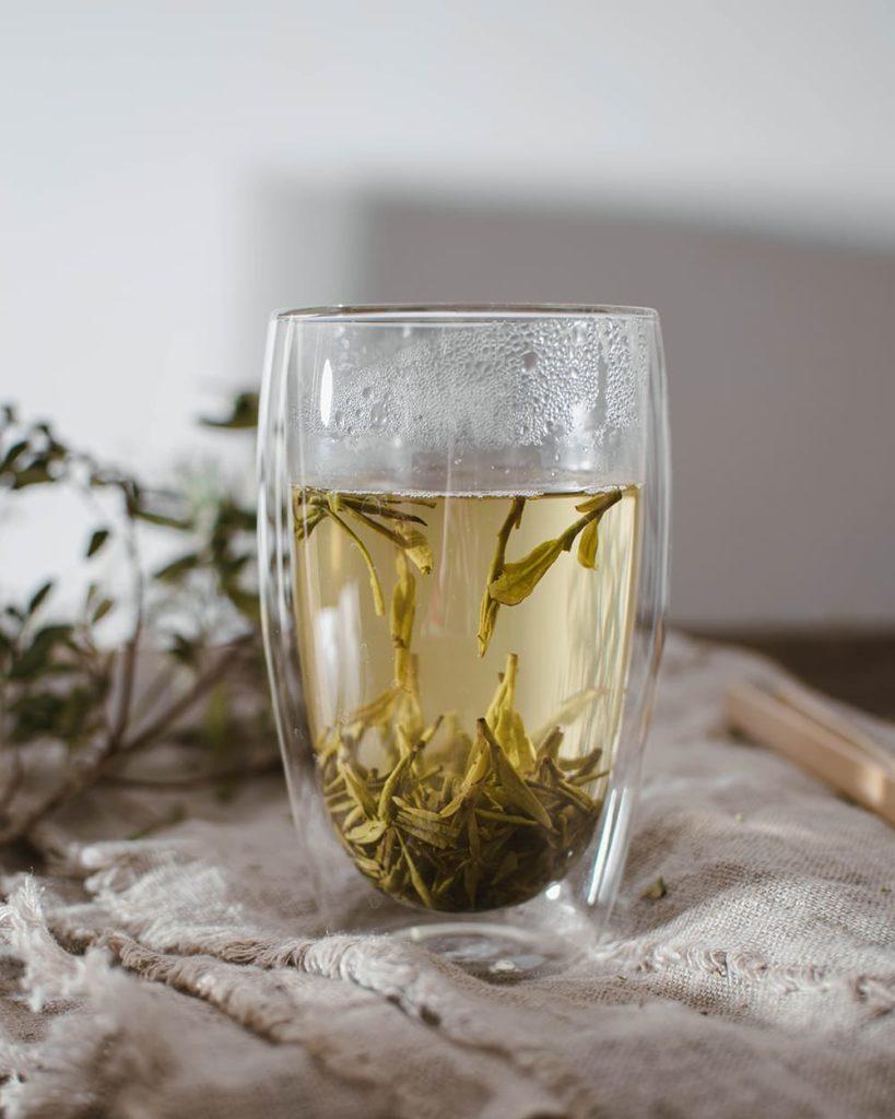 Longjing green tea 2021 march