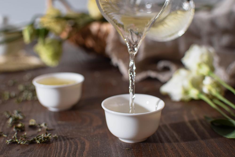 New green tea 2021