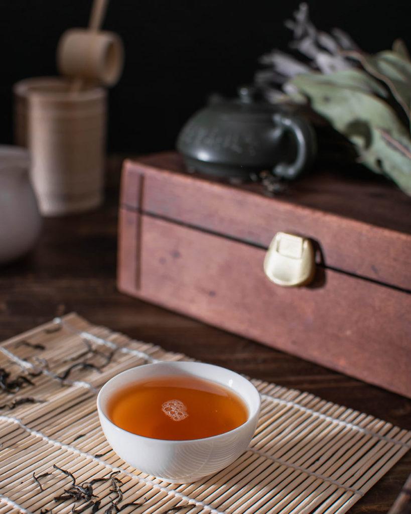 Qi Lan Ya red tea