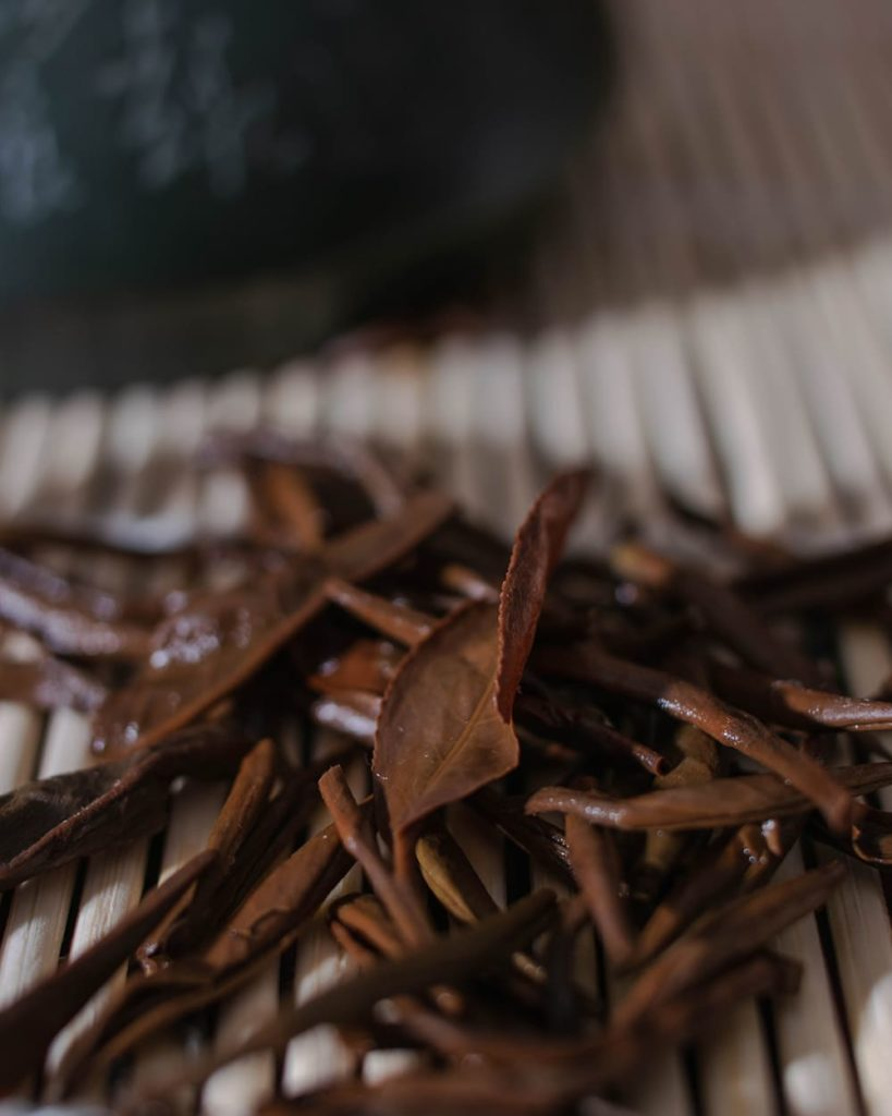 Qilan tea leaves