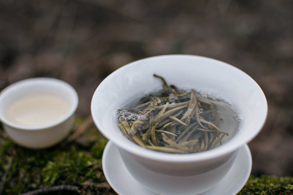 White tea Vietnam testing