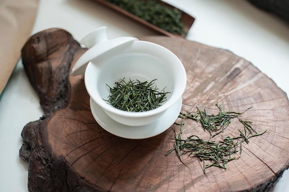 Зеленый чай из Хуюэй купить фото