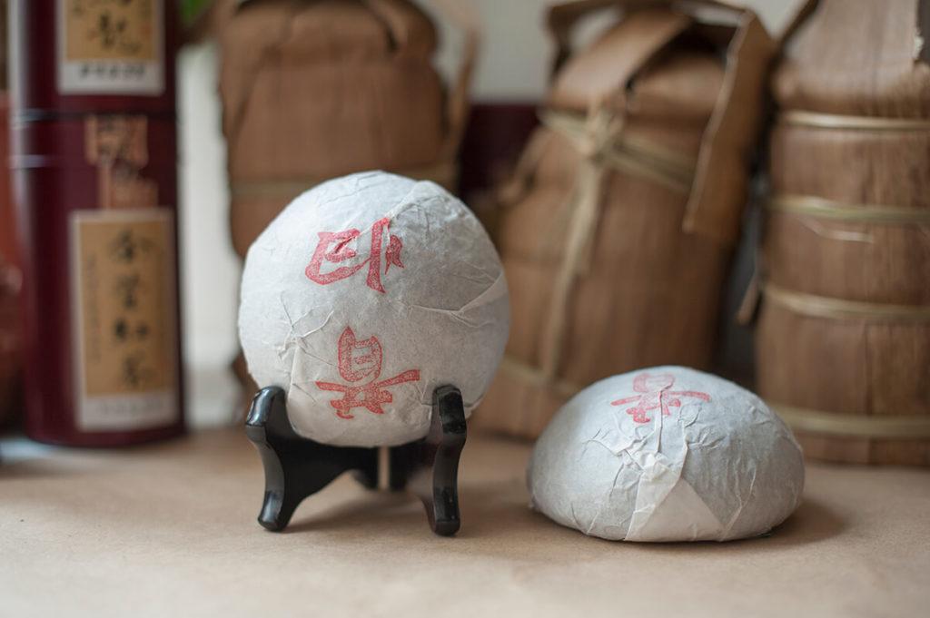 Sigui Gushu Sheng puer 2012